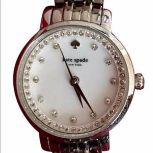 Kate Spade Silver Mini Monterey Watch